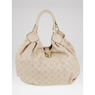 Louis Vuitton Sable Monogram Mahina Leather XL Bag