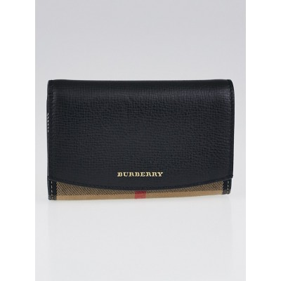 Burberry House Check Wellington French Wallet