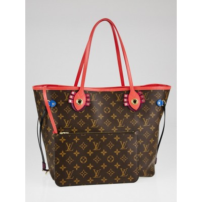 Louis Vuitton Monogram Canvas Totem Neverfull MM Bag