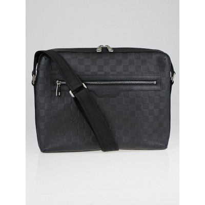 Louis Vuitton Onyx Damier Infini Leather Calypso MM Messenger Bag