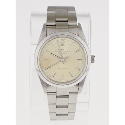 Rolex 34mm Stainless Steel Oyster Perpetual Air King Watch W991216