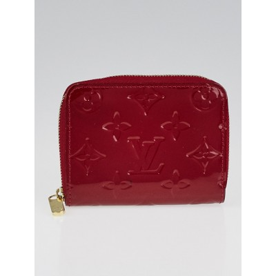 Louis Vuitton Pomme D'Amour Monogram Vernis Zippy Coin Purse