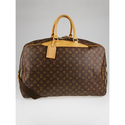 Louis Vuitton Monogram Canvas Alize 2 Poche Soft Suitcase