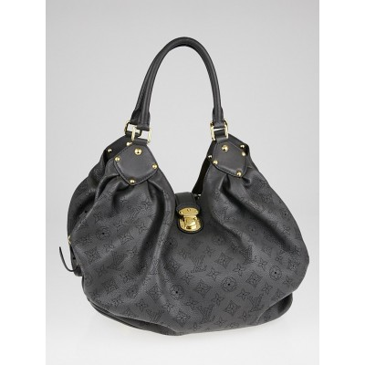 Louis Vuitton Gris Elephant Mahina Leather