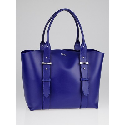 Alexander McQueen Ultramarine Leather Legend Small Tote Bag