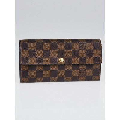 Louis Vuitton Damier Canvas Sarah Wallet