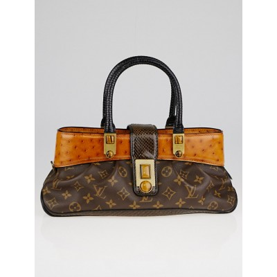 Louis Vuitton Limited Edition Monogram Canvas Macha Waltz Bag