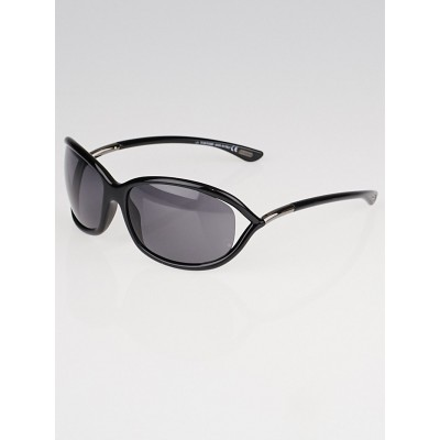 Tom Ford Black Frame Tinted Jennifer Sunglasses-TF8