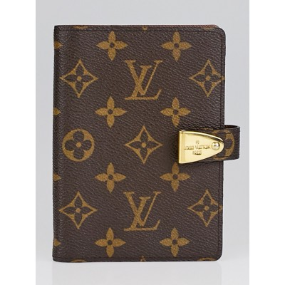 Louis Vuitton Monogram Canvas Partenaire PM Agenda Cover/Notebook