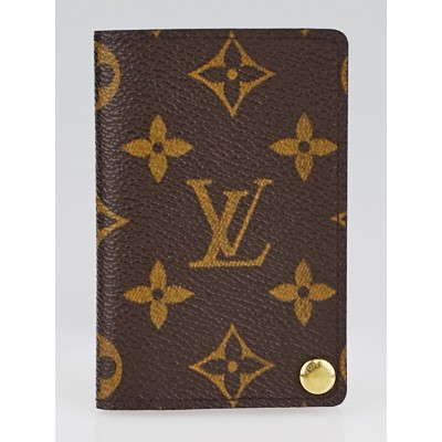 Louis Vuitton Monogram Canvas Business Card Holder
