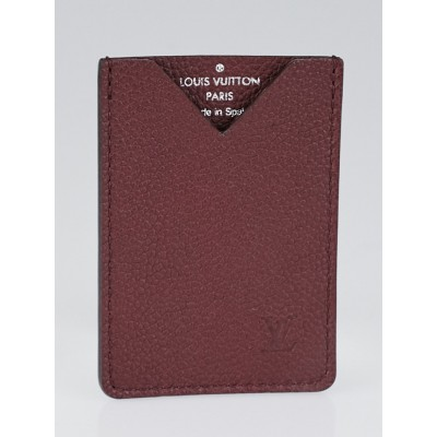 Louis Vuitton Bordeaux Taurillon Leather Cardholder