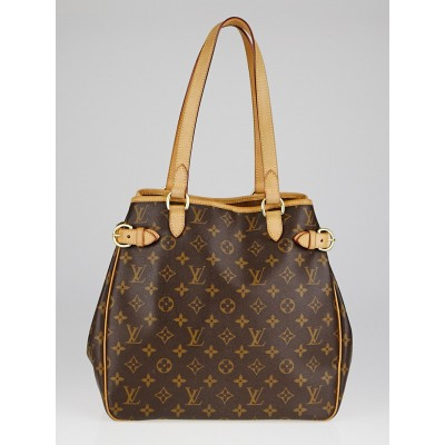 Louis Vuitton Monogram Canvas Batignolles Vertical Bag