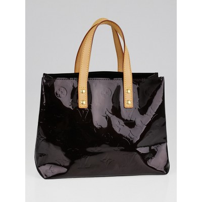 Louis Vuitton Amarante Monogram Vernis Reade PM Tote Bag