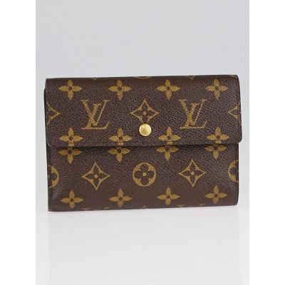 Louis Vuitton Monogram Canvas Porte-Tresor Etui Papiers Wallet