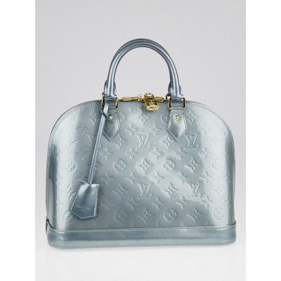 Louis Vuitton Givre Monogram Vernis Alma PM Bag
