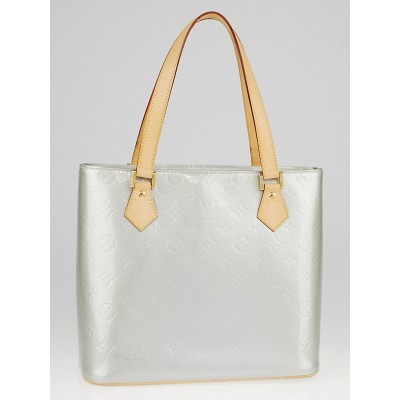 Louis Vuitton Silver Monogram Vernis Houston Bag