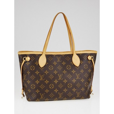 Louis Vuitton Monogram Canvas Neverfull PM Bag