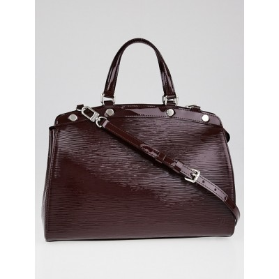 Louis Vuitton Prune Electric Epi Leather Brea MM Bag