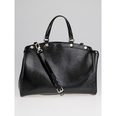 Louis Vuitton Black Electric Epi Leather Brea MM Bag