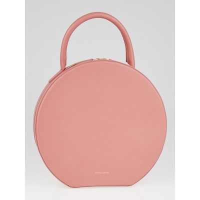 Mansur Gavriel Blush Leather Circle Bag