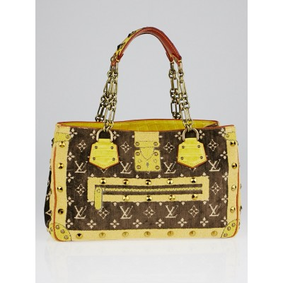 Louis Vuitton Limited Edition Monogram Trompe L'Oeil Le Fabuleux Tote Bag
