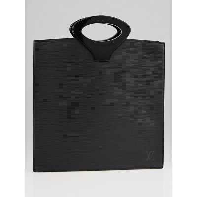 Louis Vuitton Black Epi Leather Ombre Tote Bag