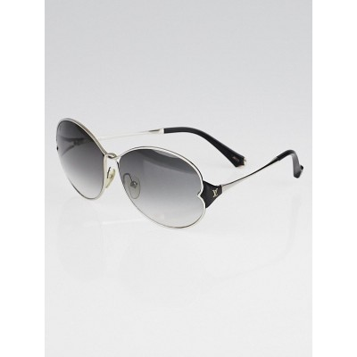 Louis Vuitton Silvertone Metal Frame Daisy Sunglasses-Z0261U
