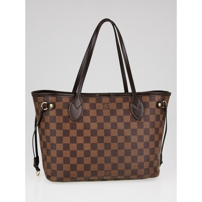 Louis Vuitton Damier Canvas Neverfull PM Bag