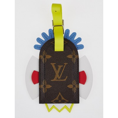 Louis Vuitton Limited Edition Monogram Mask Luggage Tag