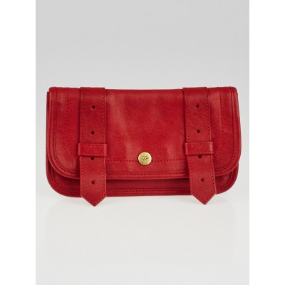Proenza Schouler Red Leather PS1 Wallet