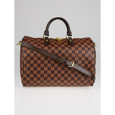 Louis Vuitton Damier Canvas Speedy Bandouliere 35 NM Bag