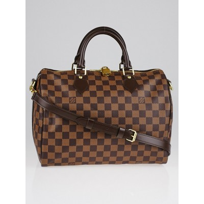 Louis Vuitton Damier Canvas Speedy 30 Bandouliere Bag