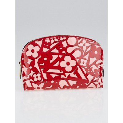 Louis Vuitton Pomme D'Amour Sweet Monogram Vernis Cosmetic Bag