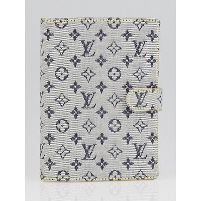 Louis Vuitton Blue Monogram Mini Lin Agenda PM