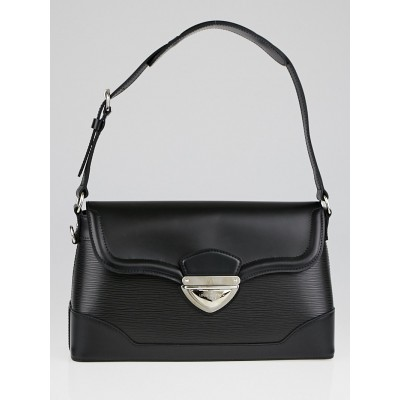 Louis Vuitton Black Epi Leather Bagatelle PM Bag