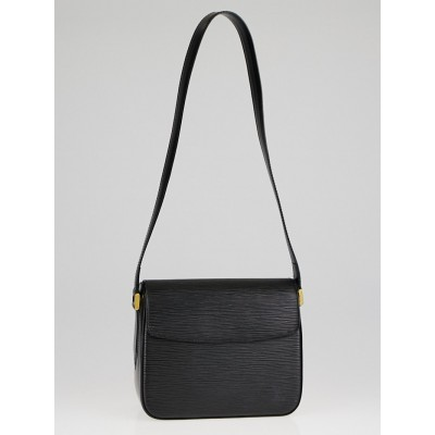 Louis Vuitton Black Epi Leather Buci Bag