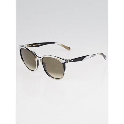 Celine Brown Horn Frame Thin Mary Sunglasses- CL41068