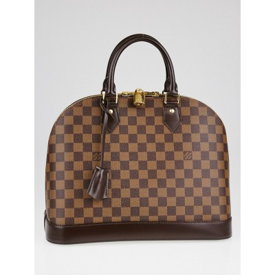 Louis Vuitton Damier Canvas Alma MM Bag