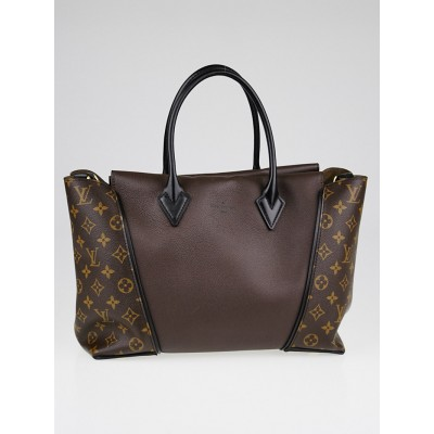 Louis Vuitton Chocolate Monogram Canvas W PM Bag