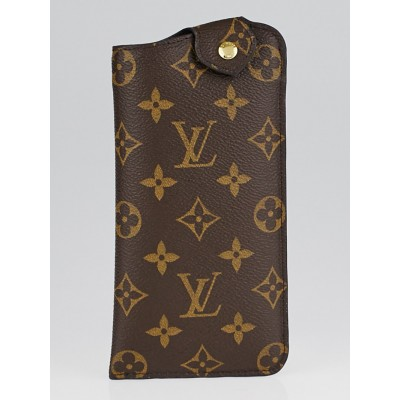 Louis Vuitton Monogram Canvas Sunglasses Case MM