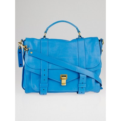 Proenza Schouler Rip Tide Lambskin Leather Large PS1 Satchel Bag