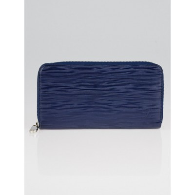 Louis Vuitton Indigo Epi Leather Zippy Wallet