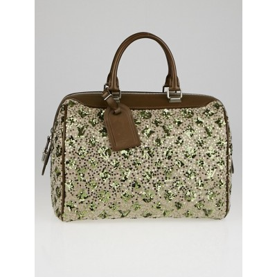 Louis Vuitton Limited Edition Khaki Monogram Sunshine Express Speedy Bag