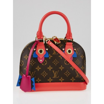 Louis Vuitton Flamingo Monogram Canvas Totem Alma BB Bag