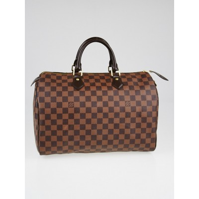 Louis Vuitton Damier Canvas Speedy 35 NM Bag