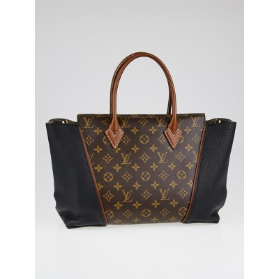 Louis Vuitton Black Monogram Canvas W PM Bag