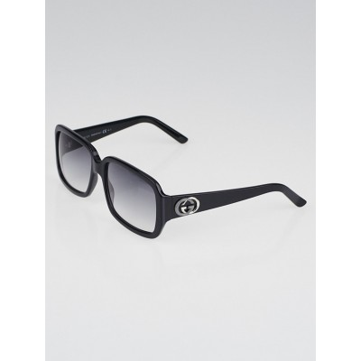 Gucci Black Havana Gradient Tint Lenses Sunglasses-3159
