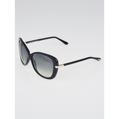 Tom Ford Black Acetate Frame Linda Sunglasses - TF324