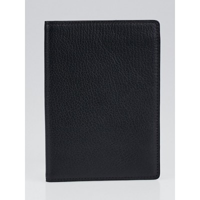 Cartier Black Leather Passport Cover