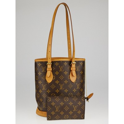 Louis Vuitton Monogram Canvas Petite Bucket Bag w/ Accessories Pouch